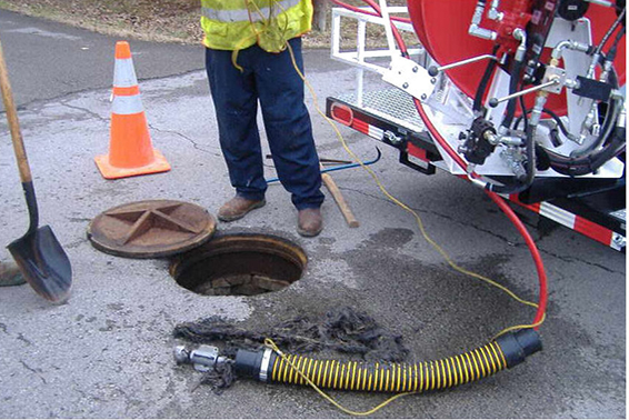 Underground Utility Pipe Inspection Industrial Municipal